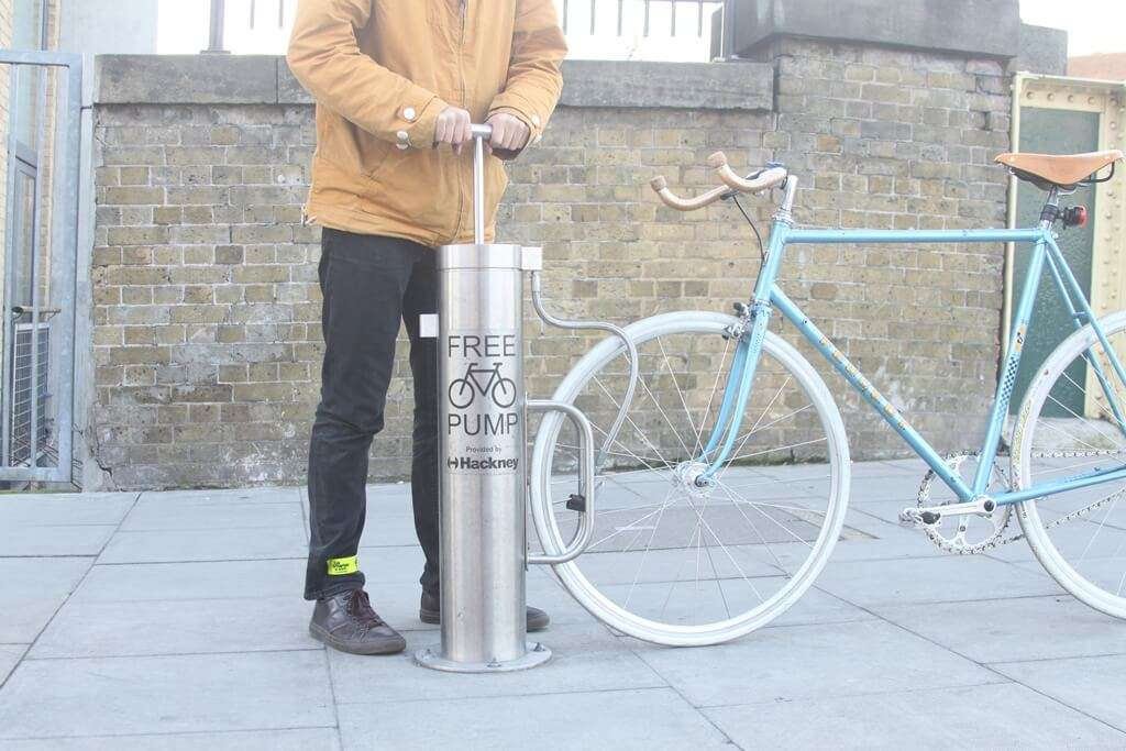 Cycle Hoop - bike pump