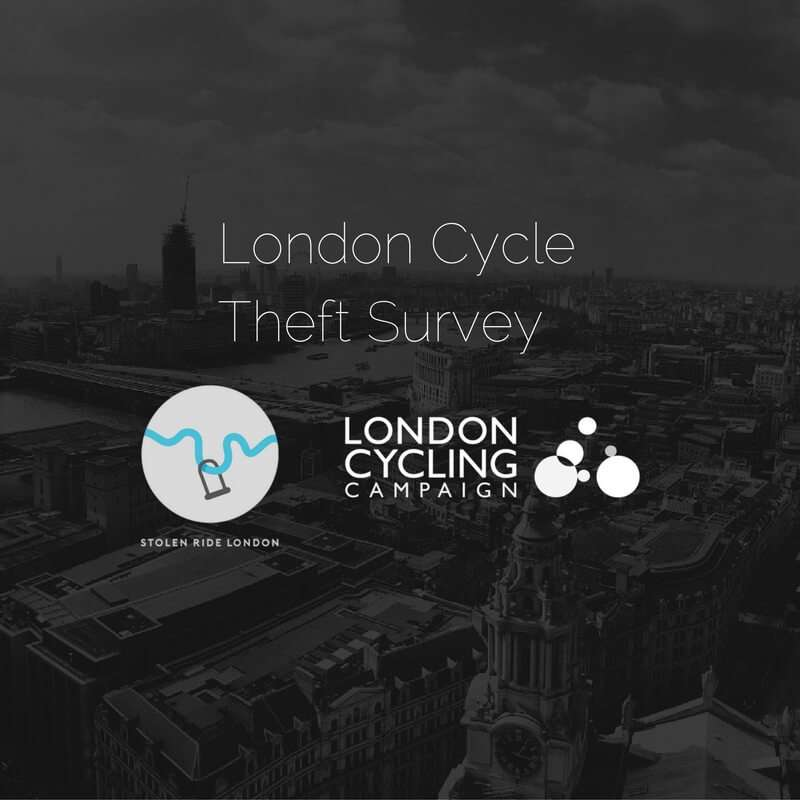 London Cycle Theft Survey 2016