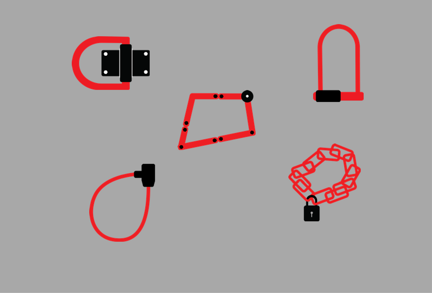 Bike lock types
