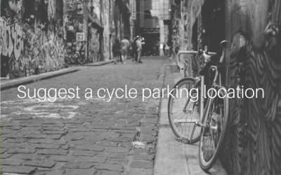 Suggest a cycle parking location