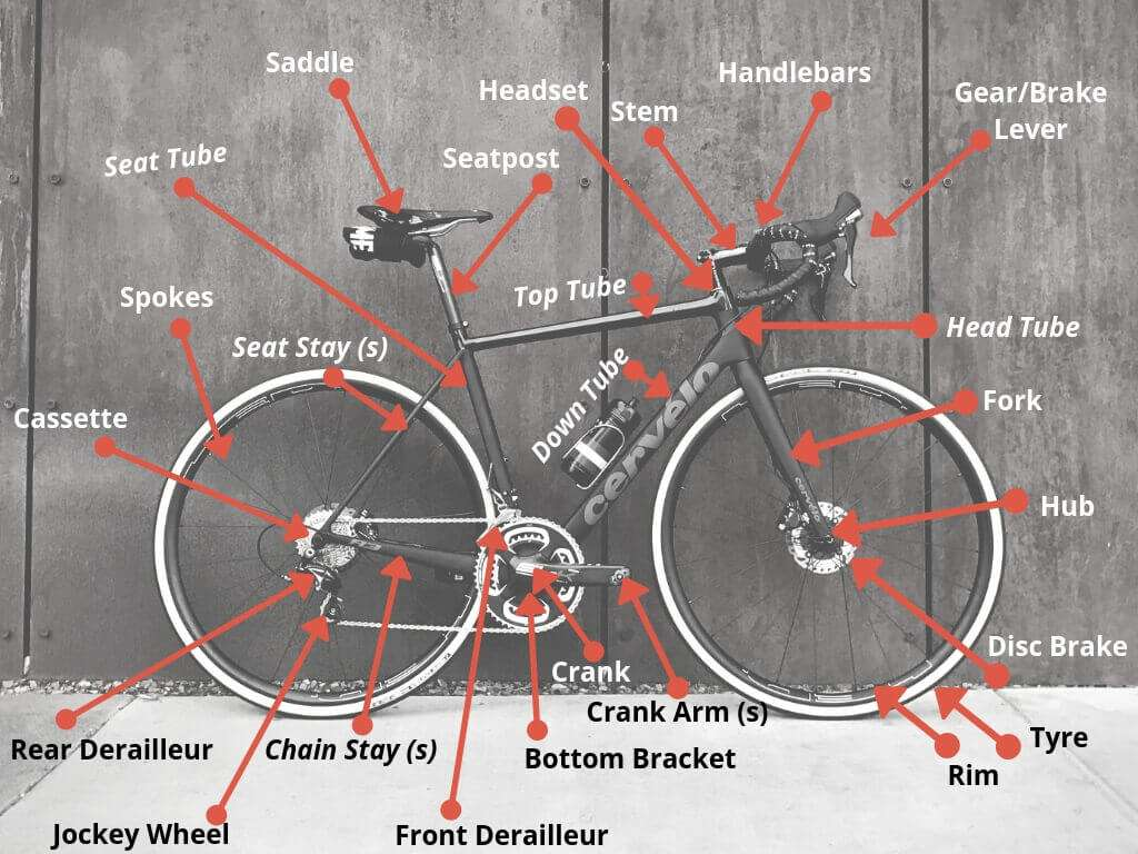 Bicycle Anatomy For Beginners Stolen Ride
