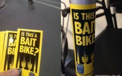 Bait bikes – could they help reduce stolen bikes?