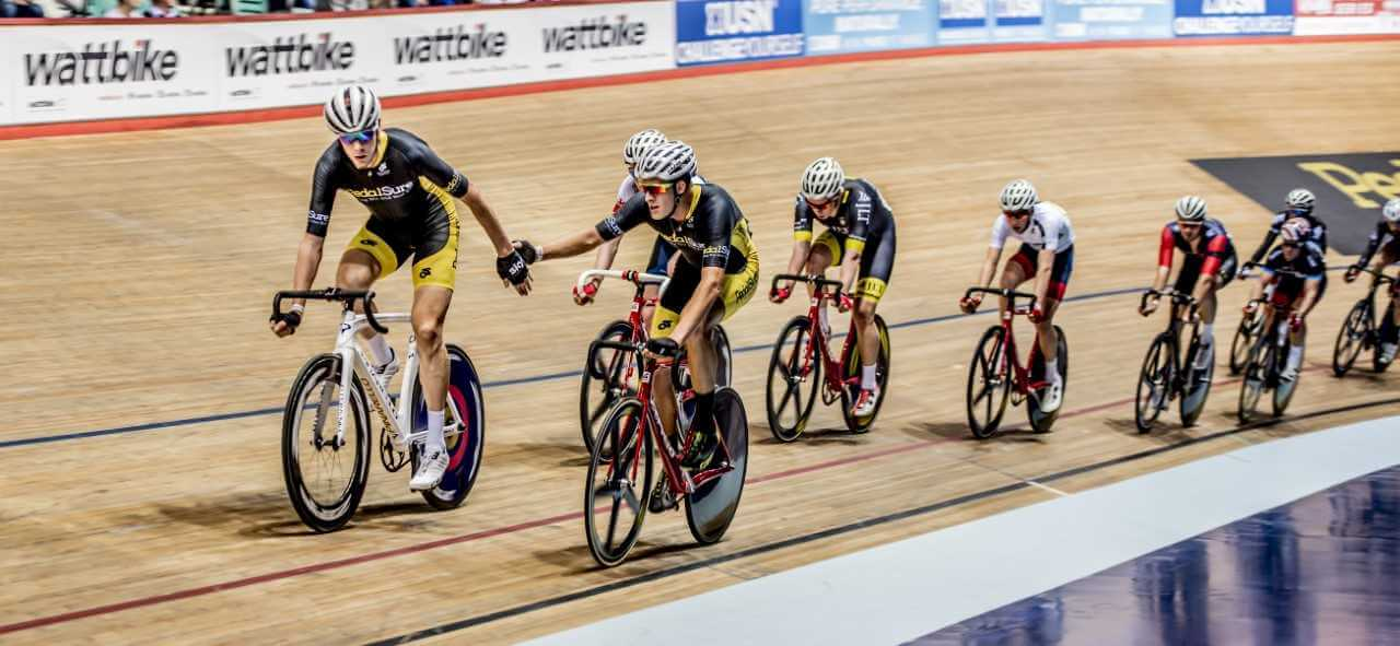 Team PedalSure track cycling