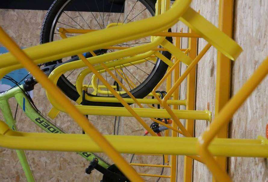SpokeSafe bicycle storage