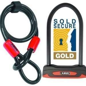 Abus Granit London 53 D-Lock Combination Pack with Cobra Cable