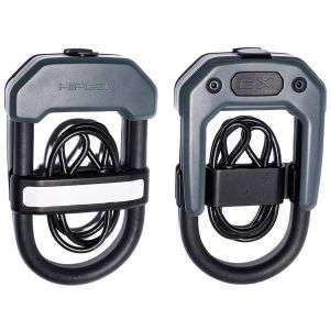 Hiplok Easy Carry DXC D Lock with Cable