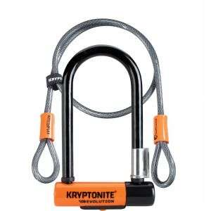 Kryptonite Evolution Mini 7 D-Lock with 4 Foot Cable