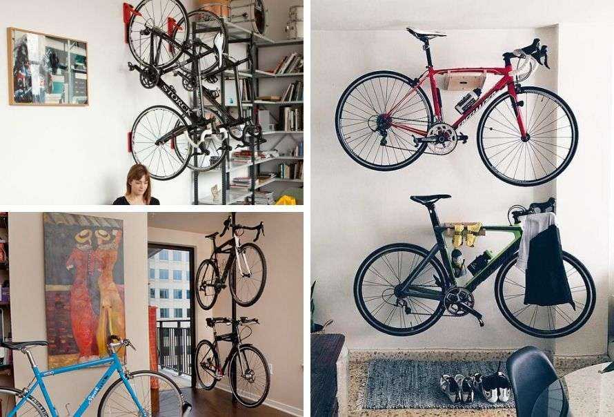 How to store your bicycle indoors