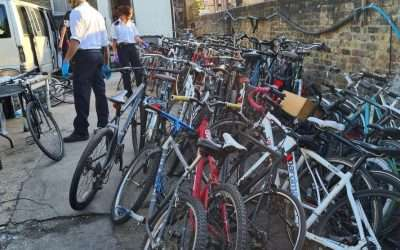 118 suspected stolen bikes recovered in Hackney
