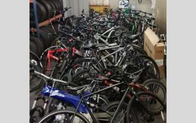 80 bikes recovered by the City of London Police