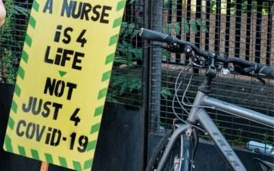 Hospital cycle parking needs improvement – protect our NHS heroes